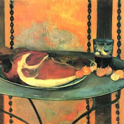 Paul-Gauguin-Der-Schinken