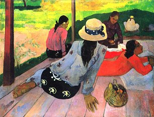 Paul Gauguin Die Mittagsruhe