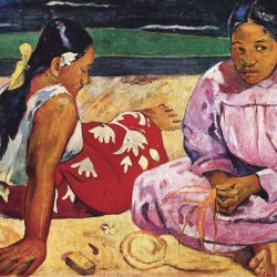 Paul-Gauguin-Frauen-am-Strand