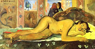 Paul Gauguin Nevermore Wandbild