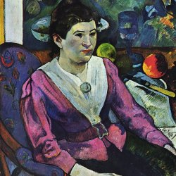 Paul-Gauguin-Portrait-der-Marie-Derrien-Lagadu