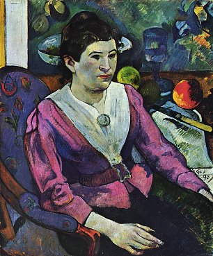 Paul Gauguin Portrait der Marie Derrien Lagadu