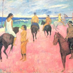 Paul-Gauguin-Reiter-am-Strand-2