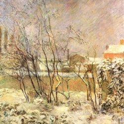 Paul-Gauguin-Schnee-in-der-Rue-Carcel