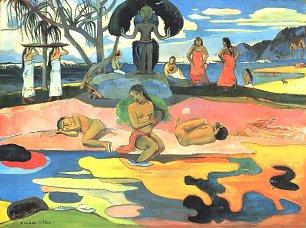 Paul Gauguin Sonntag Mahana no atua Wandbilder