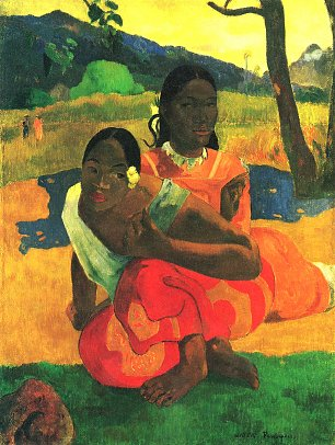 Paul Gauguin Wann heiratest du Wandbild