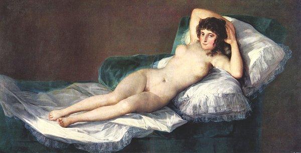 Francisco de Goya Die nackte Maja
