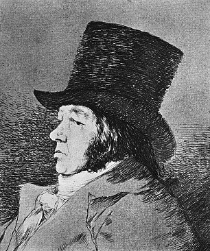 Francisco de Goya Folge der Caprichos 1 Wandbilder