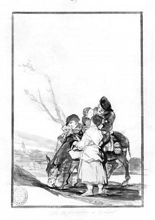 Francisco de Goya Schwarzrand Album 10 Wandbilder