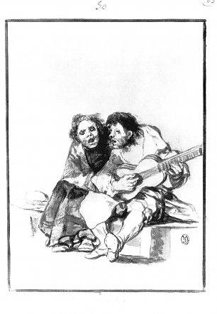 Francisco de Goya Schwarzrand Album 28 Wandbilder