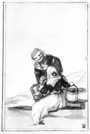 Francisco de Goya Schwarzrand Album 30 Wandbilder
