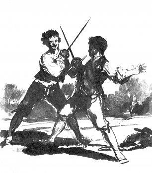 Francisco de Goya Sepia Album 1 Wandbilder