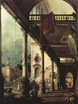 Francesco Guardi Der Laubengang