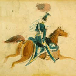 Constantin-Guys-Man-on-horseback