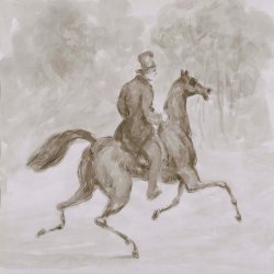 Constantin-Guys-Man-on-trotting-horse