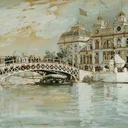 Childe-Hassam-Columbian-exposition-Chicago