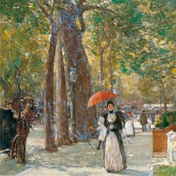 Childe-Hassam-Fifth-Avenue-at-Washington-Square-New-York