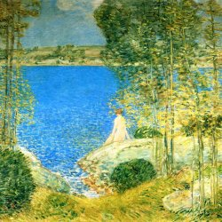Childe-Hassam-The-Bather