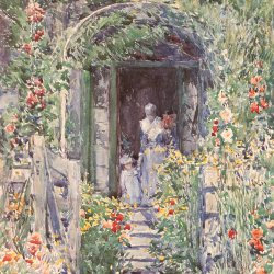 Childe-Hassam-The-Garden-in-Glory
