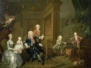 William Hogarth The Cholmondeley Family