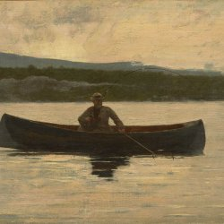 Winslow-Homer-Playing-a-Fish