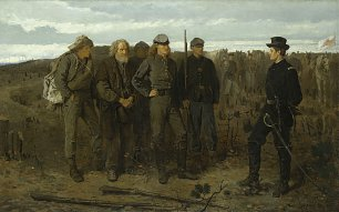 Winslow Homer Prisoners From The Front Wandbild