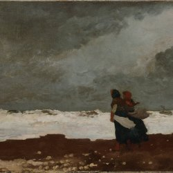 Winslow-Homer-Two-Figures-by-the-Sea
