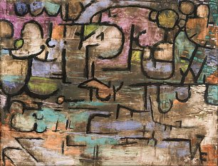 Paul Klee After The Flood Wandbild