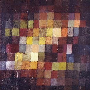 Paul Klee Alter Klang Wandbild