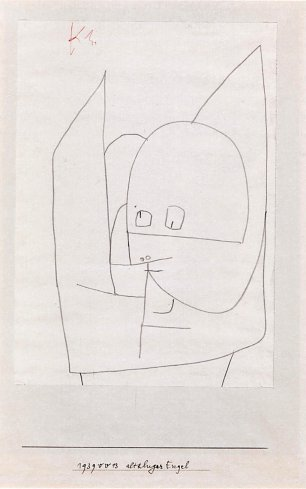 Paul Klee Altkluger Engel