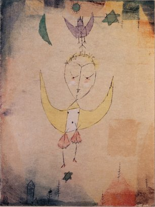 Paul Klee Angelus Descendens