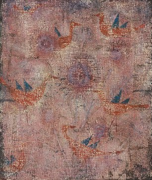 Paul Klee Blaugefluegelte Voegel