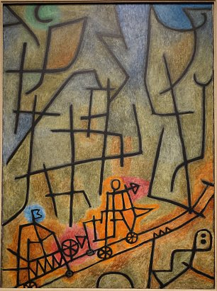 Paul Klee Conquest of the Mountain Wandbild