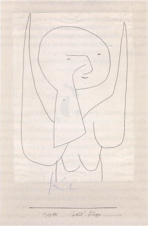 Paul Klee Engel bald fluegge