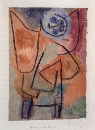 Paul Klee Engel uebervoll