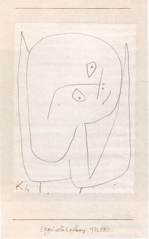 Paul Klee Engel voller Hoffnung