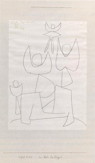 Paul Klee Fels der Engel