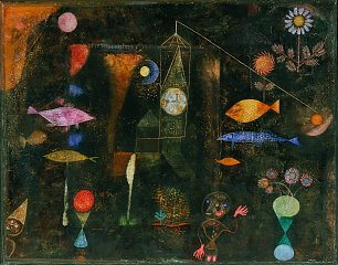 Paul Klee Fish Magic Wandbild