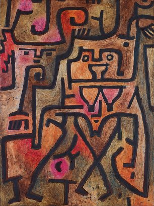 Paul Klee Forest Witches Wandbild