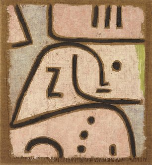 Paul Klee In Memoriam Wandbild