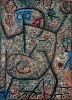 Paul Klee Oh These Rumors Wandbild