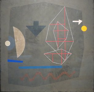Paul Klee Possibilities at Sea Wandbild