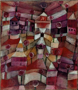 Paul Klee Rose Garden Wandbild