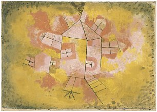 Paul Klee Rotating House Wandbild