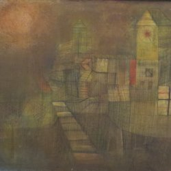 Paul-Klee-Small-Village-in-the-Autumn-Sun
