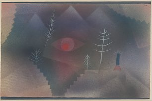 Paul Klee Swiss Glance of a Landscape Wandbild