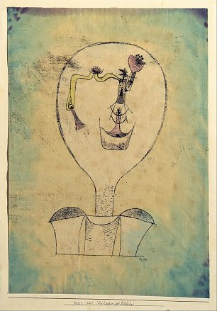 Paul Klee The Beginnings of a Smile Wandbild