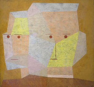 Paul Klee Two Heads