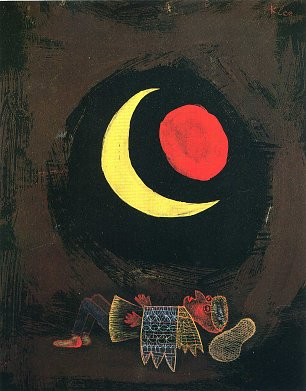 Paul Klee strong dream Wandbild