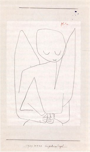 Paul Klee vergesslicher Engel Wandbild